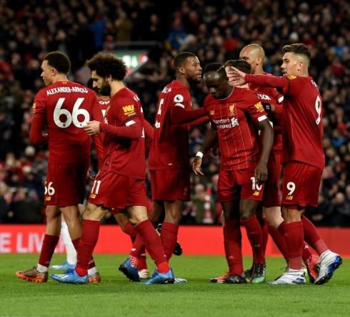 利物浦在对西汉姆的比赛中创造了他们非凡的破纪录的壮举