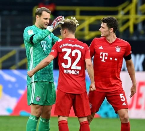 势不可挡的拜仁准备夺取德甲冠军,而多特蒙德则为他们最近错过的机会感到遗憾