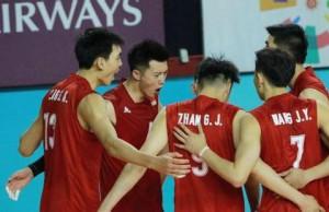 中国男排,中国女排,亚运会,世锦赛,李全强,东南亚队,郎平,伊朗男排